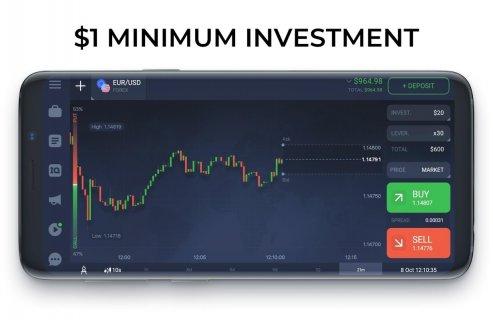 IQ Option broker: trade forex, CFD�s, bitcoin screenshot 4