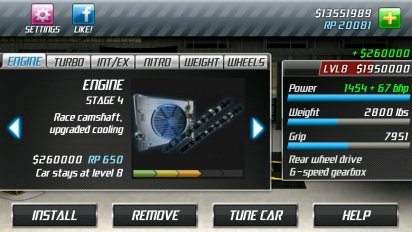 drag racing screenshot 12
