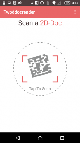 2D-Doc Reader 2 6 Download APK for Android - Aptoide