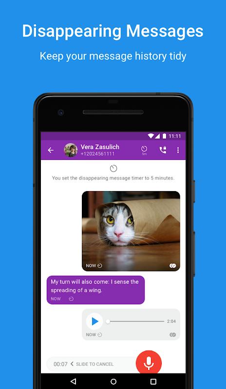 Signal Private Messenger screenshot 2