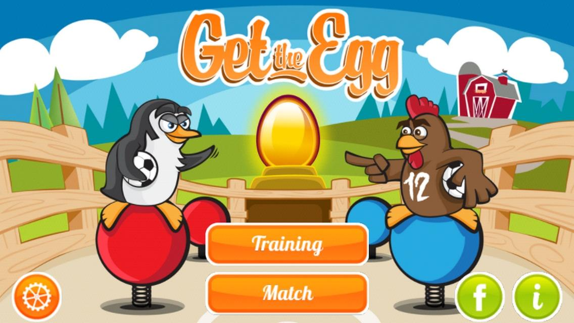 Get the Egg: Foosball screenshot 1