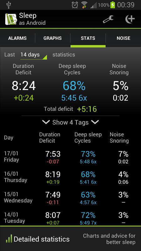 Sleep as Android screenshot 6