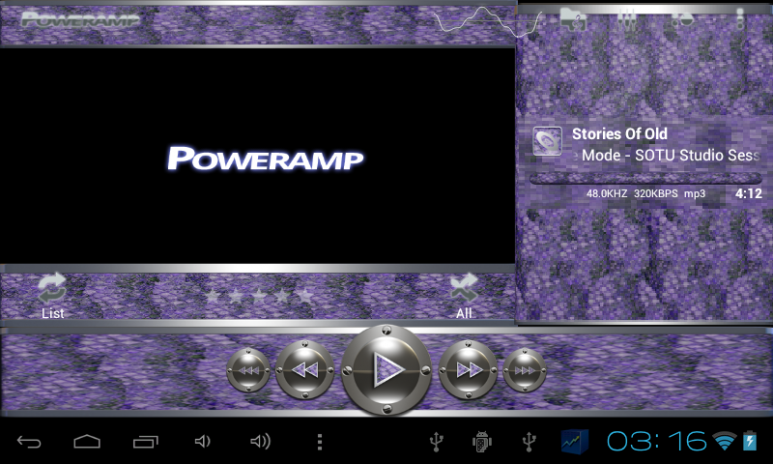 poweramp skin purple snake 3 02 Download APK for Android