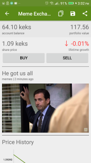 Meme Exchange - Meme Stock Market screenshot 2