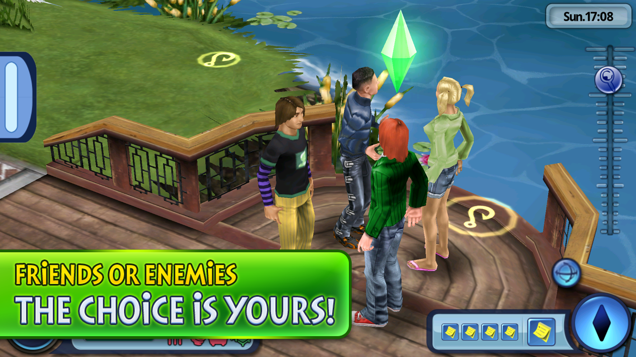 Play The Sims on your Android device