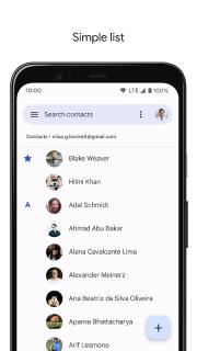 Contacts screenshot 8