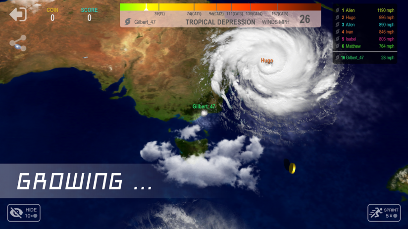 hurricane io screenshot 1