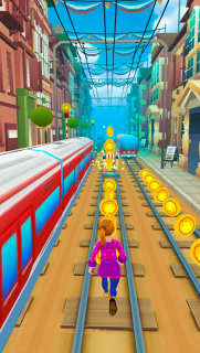 Subway Princess Surf - Endless Run screenshot 6
