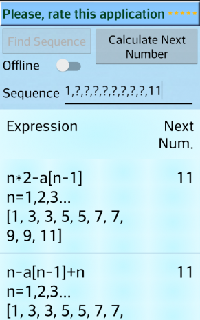 IQ Math Sequence Solver 27.0 Download APK for Android - Aptoide