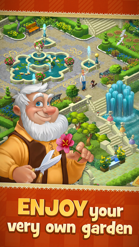 Gardenscapes screenshot 2