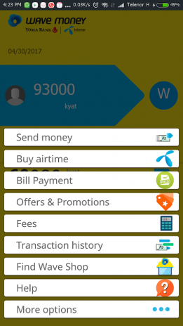 Wave Money - Send Money to Anyone in Myanmar 4 0 8 Download