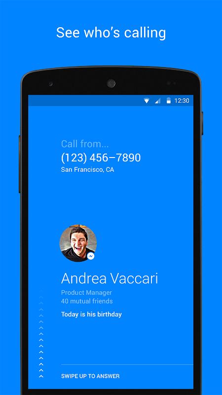Hello – Caller ID & Blocking screenshot 1