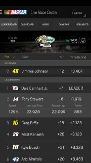NASCAR MOBILE screenshot 12