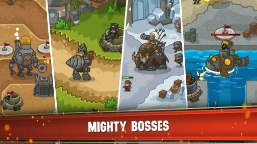 Steampunk Defense: Tower Defense screenshot 1
