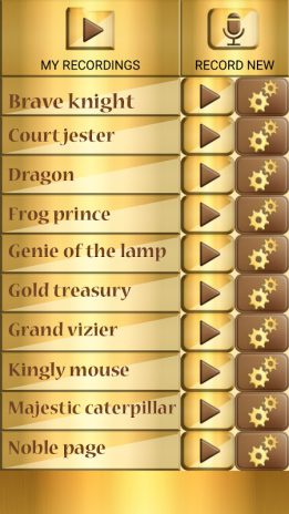 Gold Voice Changer Sound Maker 1 5 Download APK for Android - Aptoide
