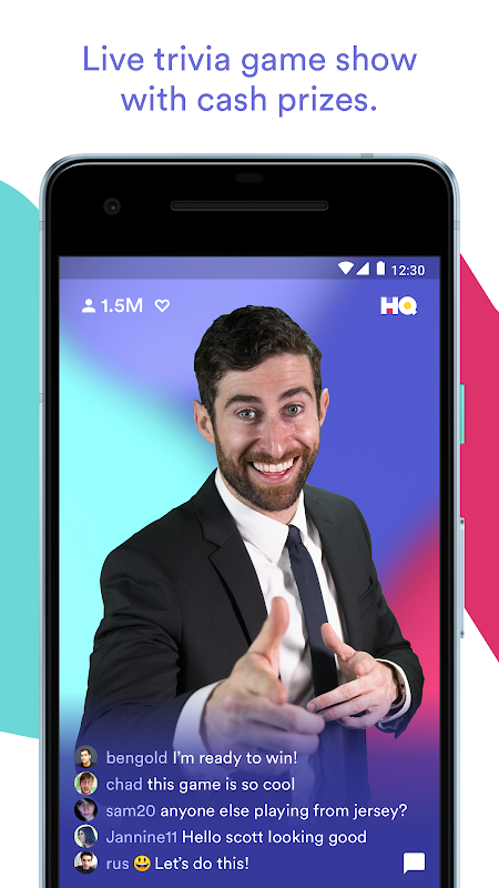 HQ - Trivia & Words screenshot 1