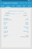 Flud - Torrent Downloader Screen