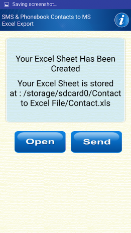 Save Phonebook & SMS to Excel 2 2 Download APK for Android
