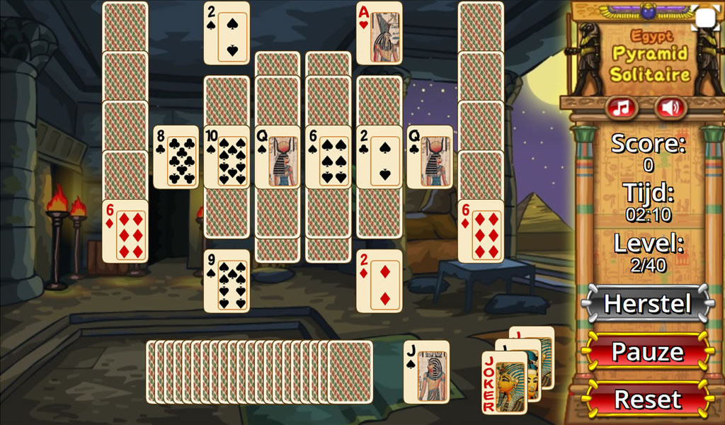pyramid solitaire ancient egypt app