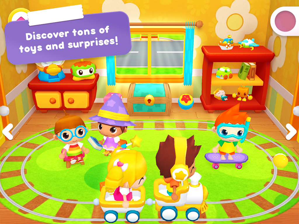 Happy Daycare Stories - School playhouse baby care screenshot 2