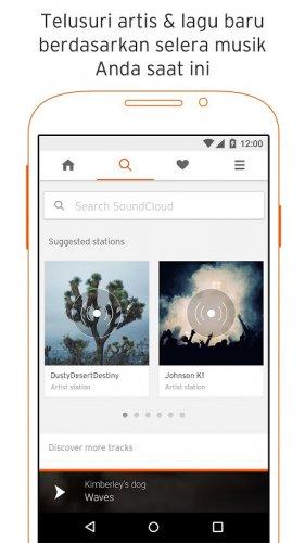 SoundCloud - musik & audio screenshot 1