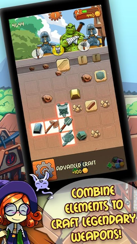Quebra-cabeça Forge screenshot 2