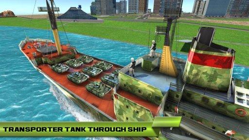 US Army Car Transport Cruise Ship Simulator 2020 screenshot 1