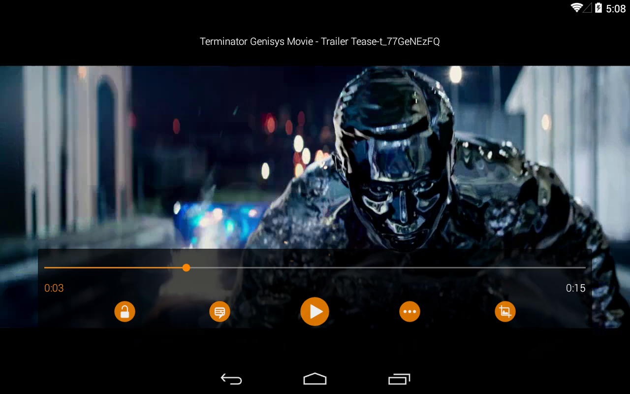 VLC for Android screenshot 2