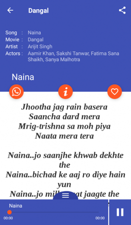 Hindi Songs Lyrics 5 0 Download Apk For Android Aptoide