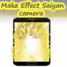 Icône make effect super Saiyan camera