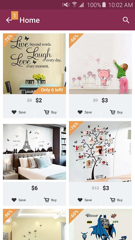... Home Design Decor Shopping Screenshot 5