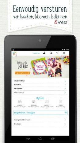 80fbf5ae28f4f1 Greetz - kaarten en cadeaus 5.0.2 Download APK voor Android - Aptoide