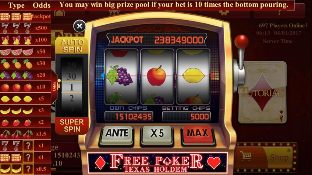 Texas Holdem Mobile Free Casino Game - IOS / Android Version