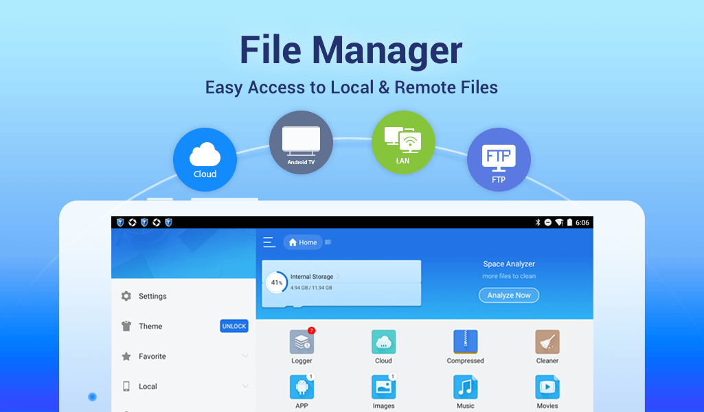 ES File Explorer/Manager PRO screenshot 2