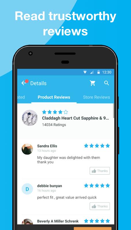 Is the app wish trustworthy