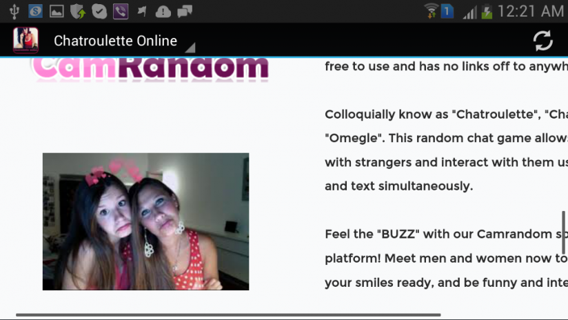Chatroulette apps android
