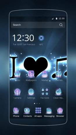 I Love Music  Theme for CM Launcher 1 0 0 Download APK for