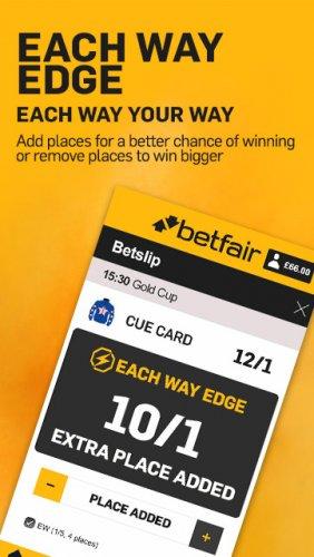 each way betting on betfair online