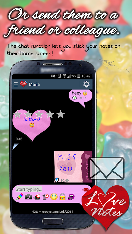 Ecards & LoveNotes Messenger screenshot 2