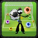 Calcio Stickman bolle