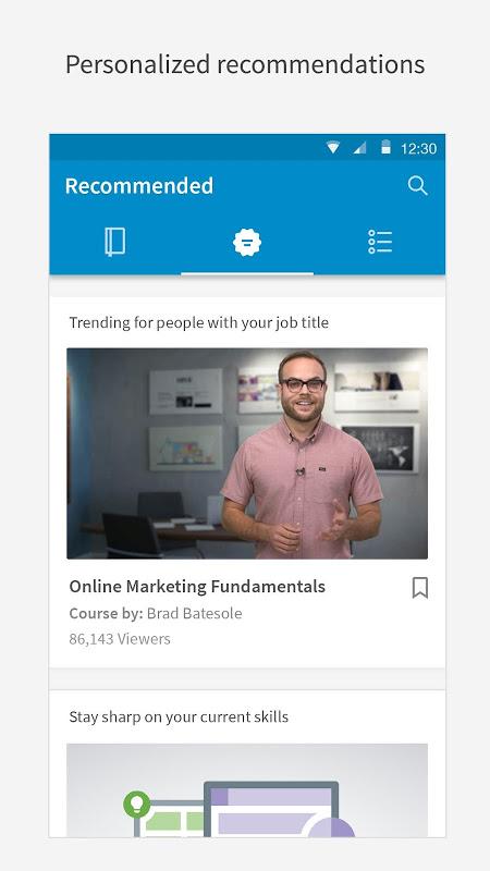 LinkedIn Learning: capacite-se com cursos on-line screenshot 1