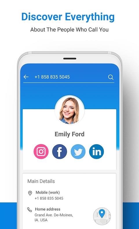 Sync.ME - Caller ID, Spam Call Blocker & Contacts screenshot 3