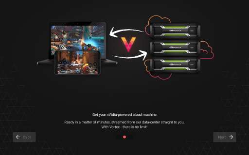 Vortex Cloud Gaming screenshot 11