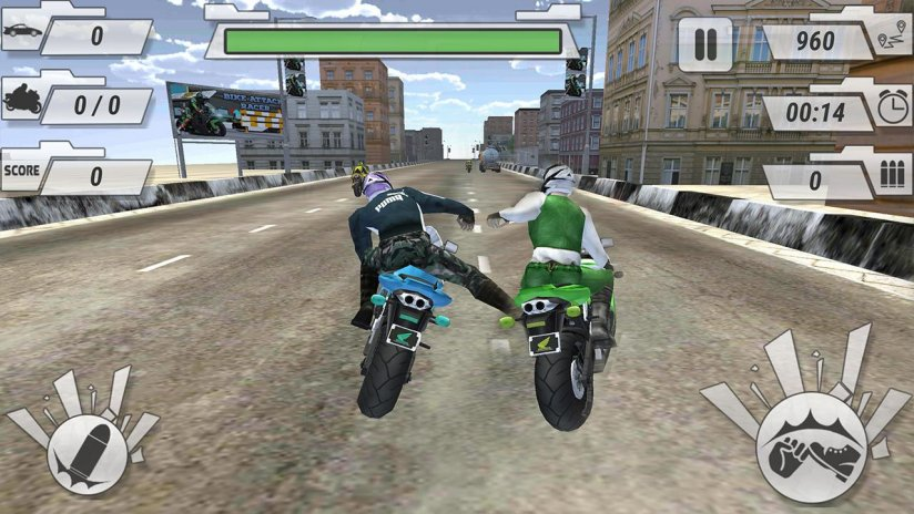 Road attack race car game free download.