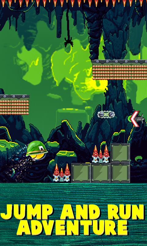 Helmetball - Jump and Run Adventure Platformer screenshot 1