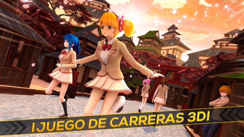 Juego Anime Y Manga Japoneses Carreras Kawaii 2 11 11 Descargar