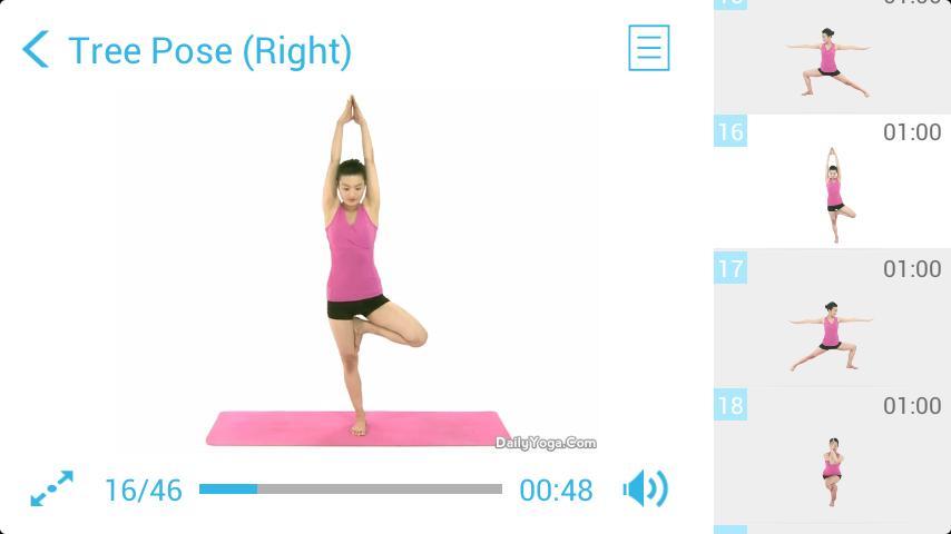 Yoga for Body Toning II (Pro) screenshot 2