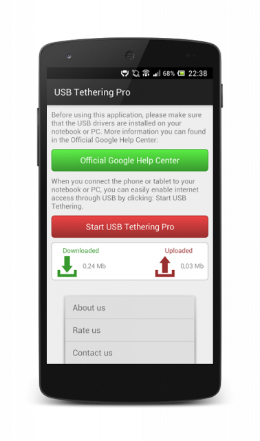Download Usb Tethering Apk - sharamajor