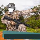 Armee-Foto-Montage