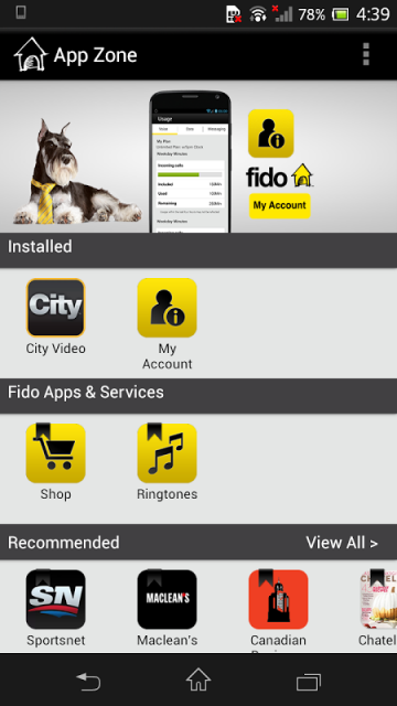 how to get fido tv
